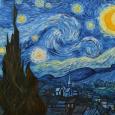 Ван гог звездная ночь обои на рабочий стол hd