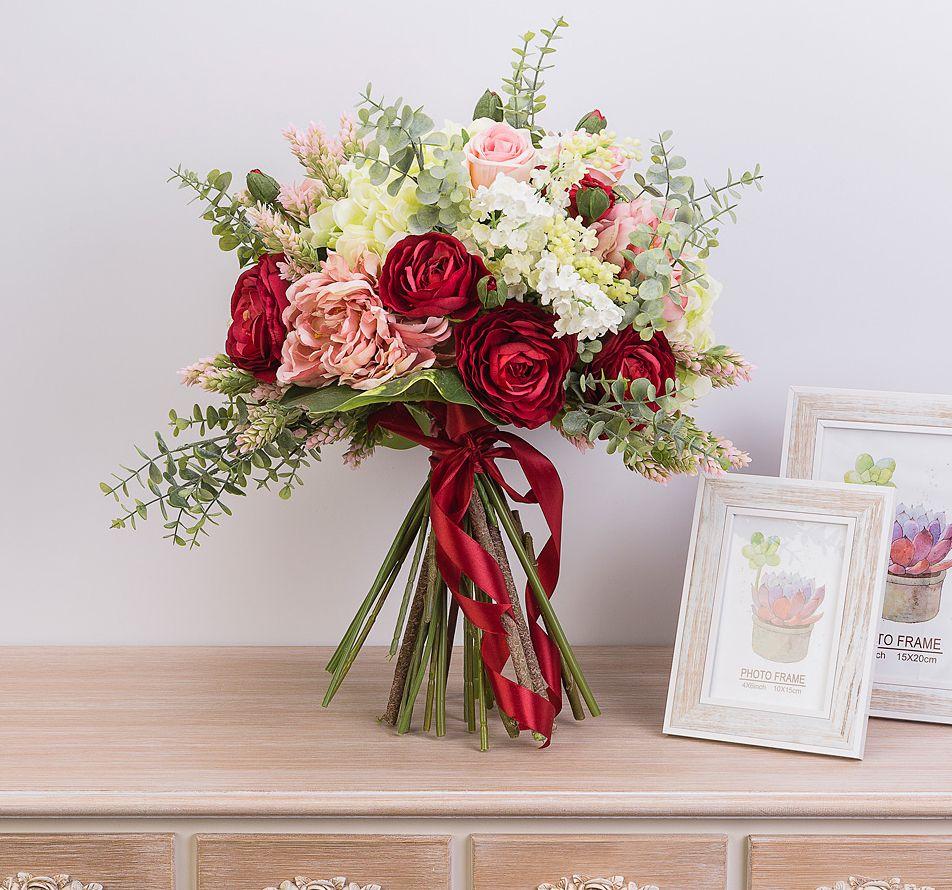 Свадебный букет, цветы оформление букеты одесса