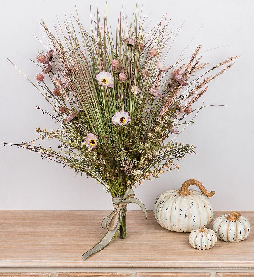 год декоративные букеты из искусственных цветов особое