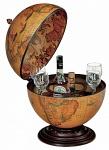 настольный бар глобус